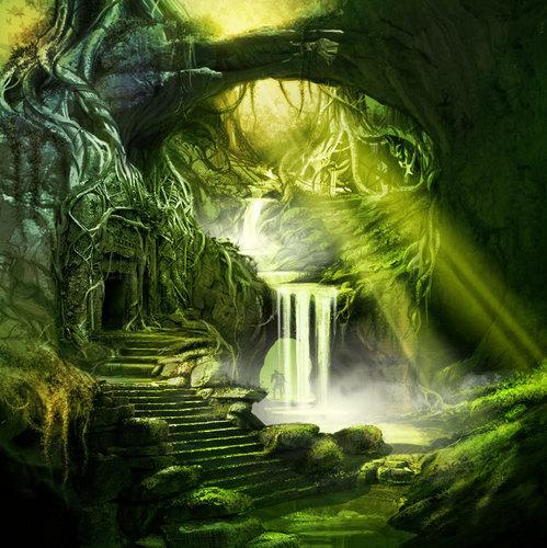Brecilian Forest Concept Art