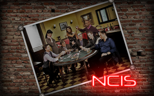 Bricks wall - ncis Wallpaper