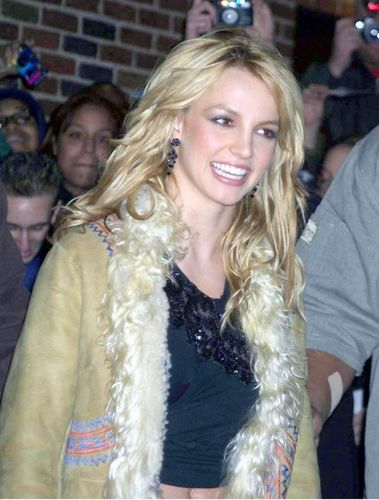 Britney Leavin 'The Late hiển thị with David Letterman',NY,November 6th 2001