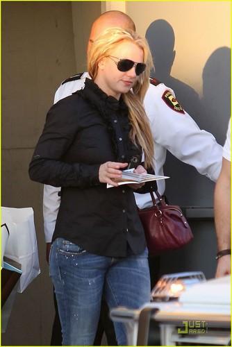 Britney Spears: BCBG with Bodyguard & Brett