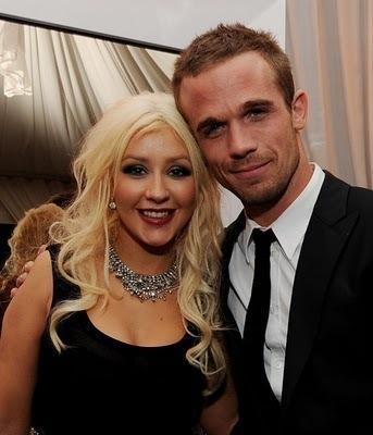 Cam Gigandet with Christina Aguilera