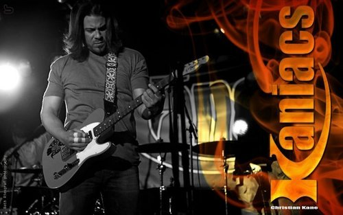 Christian Kane wallpaper containing a guitarist and a concert entitled Chris