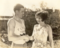 Clara Bow and Dr John J. Seiler