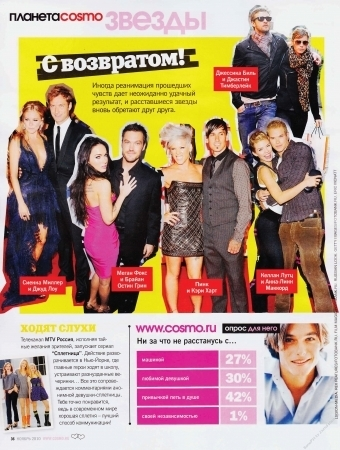 Cosmopolitan Russia - November 2010