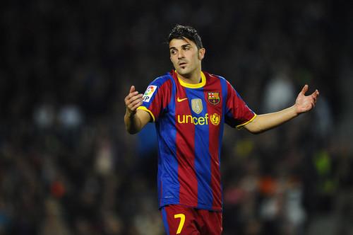 D. Villa (Barcelona - Villareal)