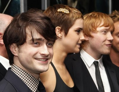 Daniel Radcliffe at the Harry Potter and the Deathly Hallows NYC Premiere- November 15, 2010