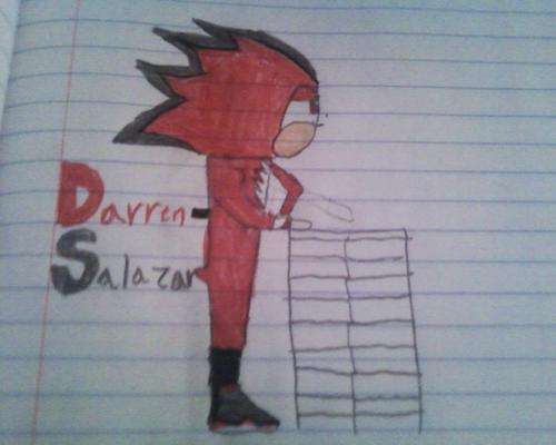 Darren-Salazar The Hedgehog