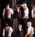 Dianna and Chord- Пение in the rain/Umbrella B-ROLL