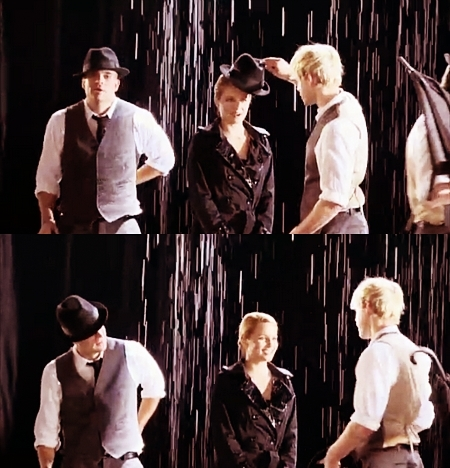 Dianna and Chord- Singing in the rain/Umbrella B-ROLL