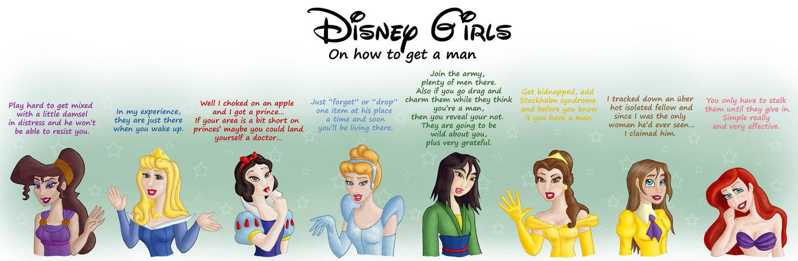 Disney Princess Advice