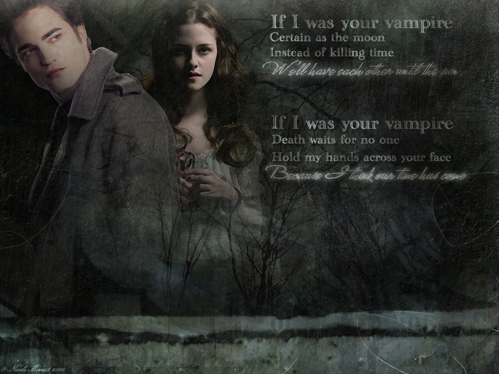 Edward ad Bella - twilight-series wallpaper