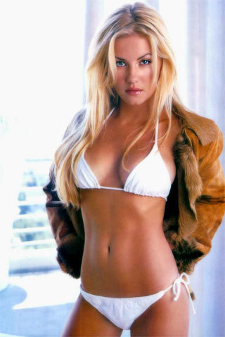 Elisha Cuthbert iPhone wallpaper