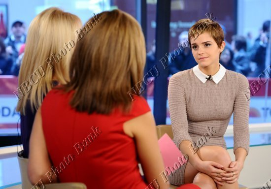 Emma at Today Show - Emma Watson 550x384