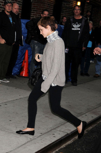 Emma out and about in NYC