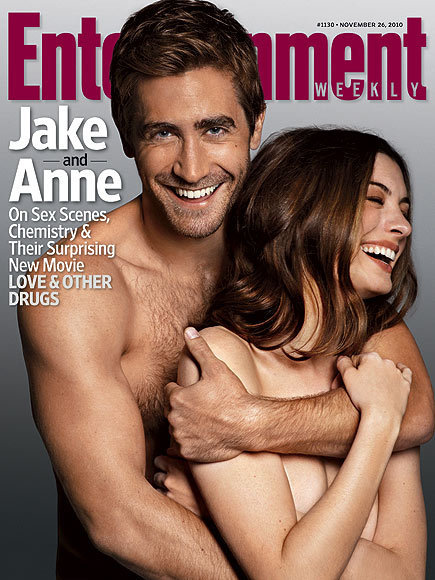 Entertainment Weekly Cover - Anne Hathaway and Jake 435x580