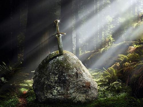 Excalibur - king-arthur Fan Art
