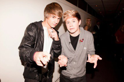 Liam Payne پیپر وال titled Goregous Liam & Cute Niall On a Nite Out :) x