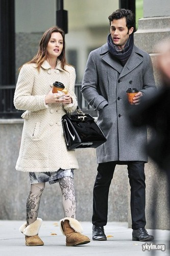 Gossip Girl - बी टी एस Set चित्रो - 16th November 2010