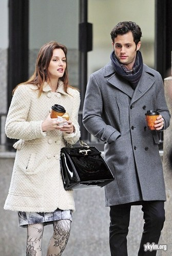 Gossip Girl - BTS Set foto's - 16th November 2010
