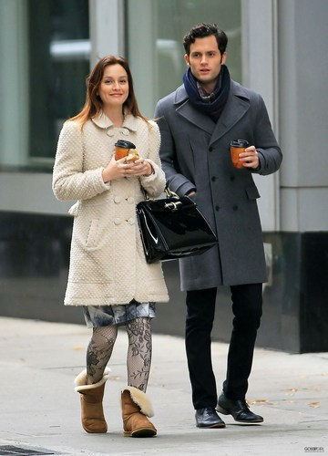 Gossip Girl - BTS Set Photos - 16th November 2010