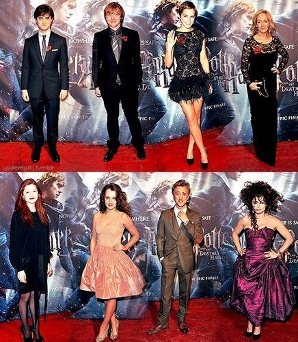 HP cast