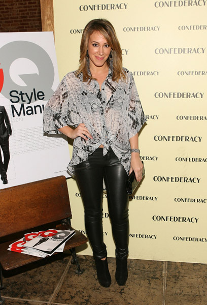 """Hosts Special Edition Of GQ """"The Style Manual"""" At Confederacy 16 Nov 2010"""