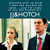 Hotch & JJ bức ảnh with a business suit titled Hotch & JJ