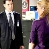 Hotch & JJ 사진 containing a business suit, a suit, and a three piece suit titled Hotch & JJ
