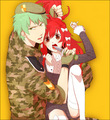 Human Flippy and Flaky - happy-tree-friends photo
