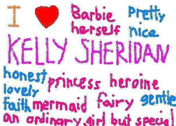 I love Kelly Sheridan