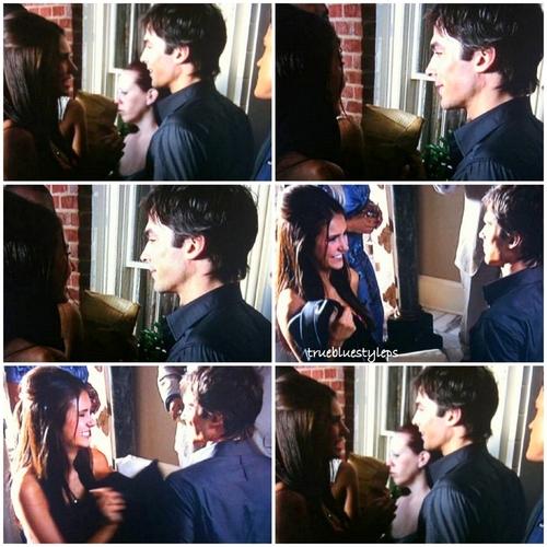 Ian/Nina behind the scenes