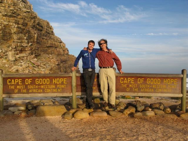 Ian and his father Robert Somerhalder