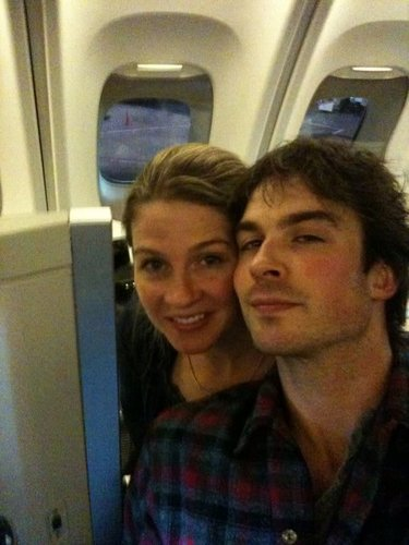 Ian and his sister Robyn