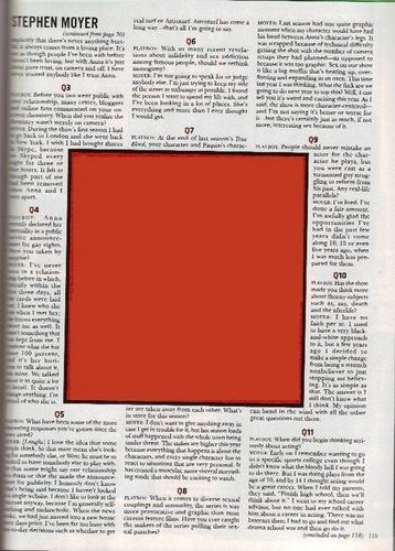 Interview with 플레이보이 Magazine