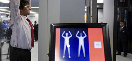 Invasive body patdowns at U.S. airports