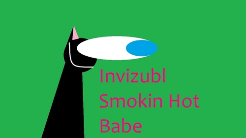 Invizabl Smokin Hot Babe! XD