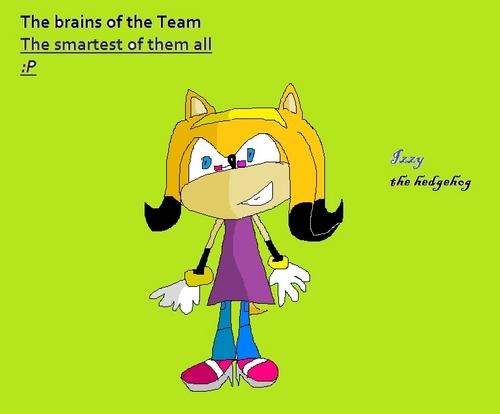 Izzy the Hedgehog