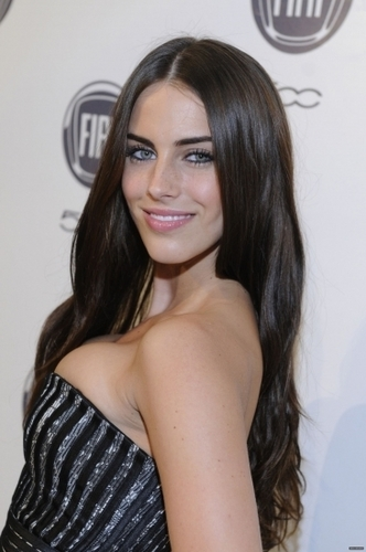 Jessica Lowndes wallpaper containing a portrait entitled Jessica @ An Evening With Chrysler And Fiat