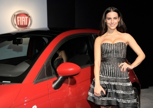 Jessica @ An Evening With Chrysler And Fiat