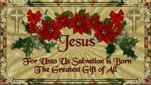 Jésus is the reason for the season <3