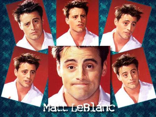 Joey Tribbiani پیپر وال possibly containing a portrait entitled Joey Trbbiani (Matt LeBlanc)