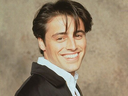 TV Male Characters wallpaper containing a business suit titled Joey Tribbiani (Friends)