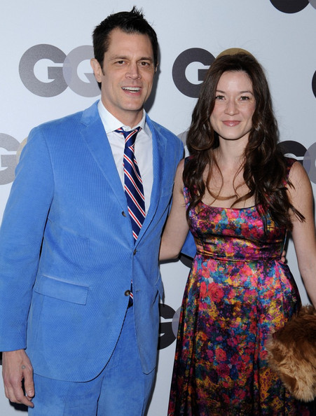Johnny Knoxville & Naomi Nelson @ the 2010 GQ Men Of The Year Party