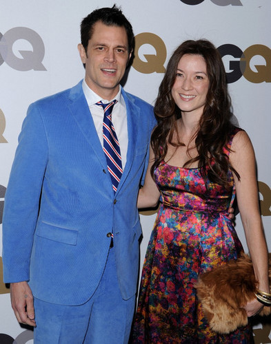 Johnny Knoxville & Naomi Nelson @ the 2010 GQ Men Of The tahun Party