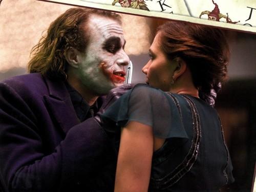 Joker and Rachel