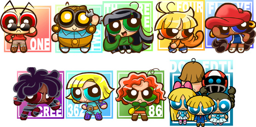 Codename: Kids siguiente Door fondo de pantalla titled KND AS PPG!