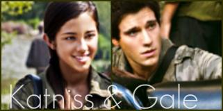 Katniss and Peeta....