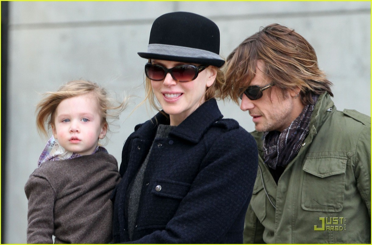 Keith, Nicole and Sunday Rose in NYC