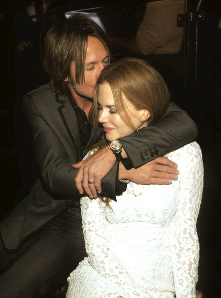 Keith Urban and Nicole Kidman at CMA awards 2010