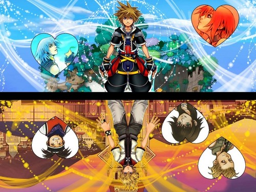 Kingdom Hearts 壁紙